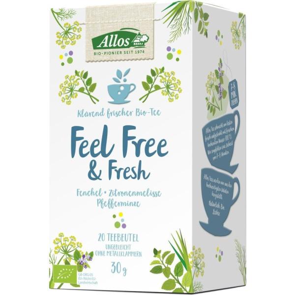 Allos - Feel Free & Fresh Gewürztee 30g