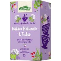 Allos - Wilder Holunder & Tulsi Kräutertee 35g