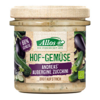 Allos Hofgemüse Bio Andreas Auberg. Zucchini, 135 g