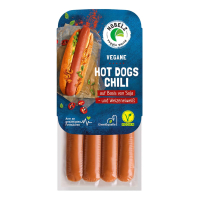 Hobelz - Vegane Hot Dogs Chili, 200 g