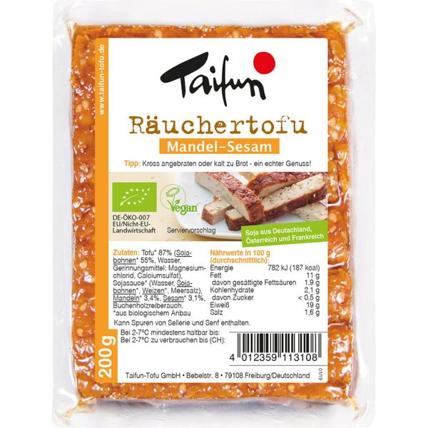 Taifun Tofu-Schnitte Mandel-Sesam 200g
