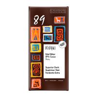 Vivani Edel-Bitter Schokolade Peru 89% Kakao 80g