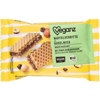 Veganz Bio Waffelschnitte Haselnuss 22g