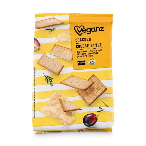 Veganz Bio Cracker Cheese Style 100g