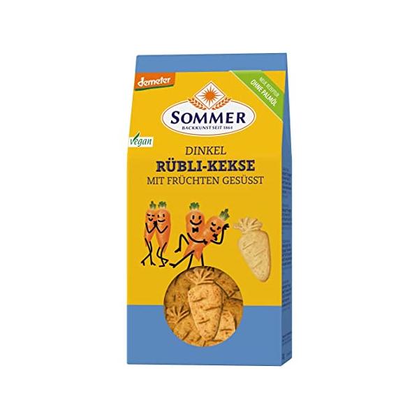 Sommer Dinkel Rübli Kekse demeter 150g