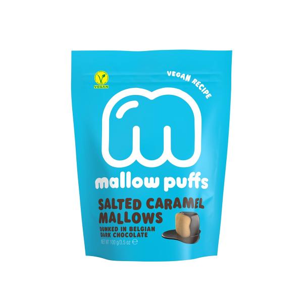 Baru - Salted Caramel Marshmallow mit belgischer Schokolade 100g